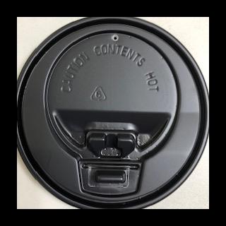 【プラカップ・紙コップ】テイクアウト 使い捨てカップ コーヒーカップ 90 口径 9.10.12.16オンス対応開閉式黒フタ 2000個