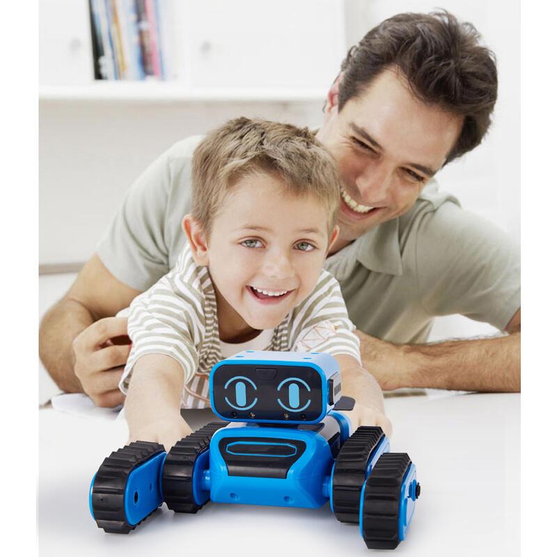 ロボット クローラー 組み立て 組立 工作キット ジェスチャー 手振り制御 STEM教育 プログラミング 障害物回避