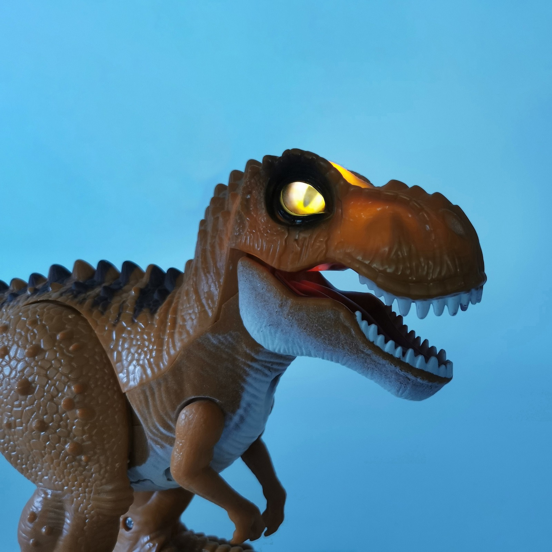 恐竜 おもちゃ ロボット ティラノサウルス 咆える 光る 大迫力 フィギュア 電動 歩行 誕生日 プレゼント