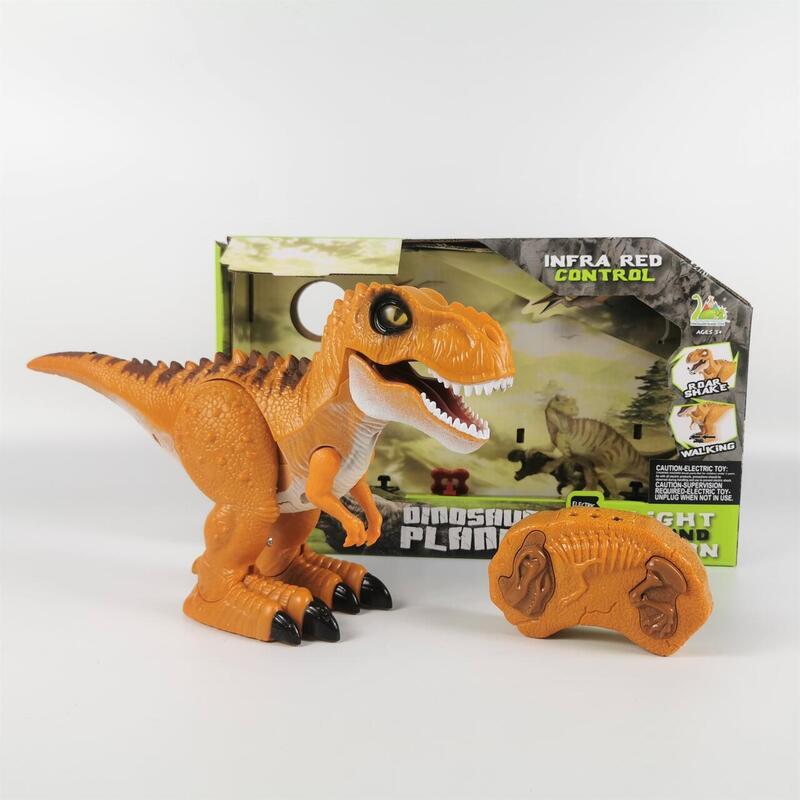恐竜 おもちゃ ロボット ティラノサウルス 咆える 光る 大迫力 フィギュア 電動 歩行 プレゼント