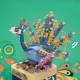 組み立て ブロック オルゴール おもちゃ 音楽ボックス 組立 癒し 立体 パズル 子供 知育 玩具 誕生日 プレゼント