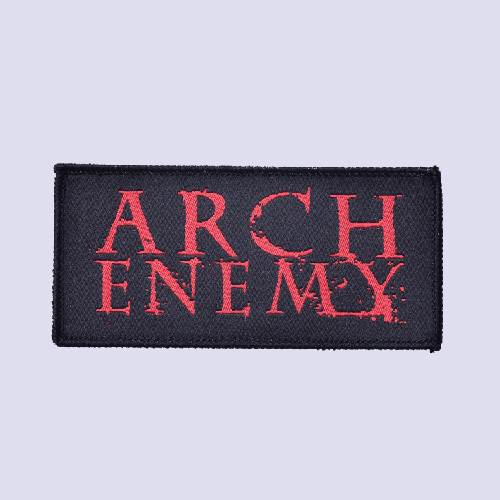 ARCH ENEMY パッチ(ARCH ENEMYロゴ 2行)
