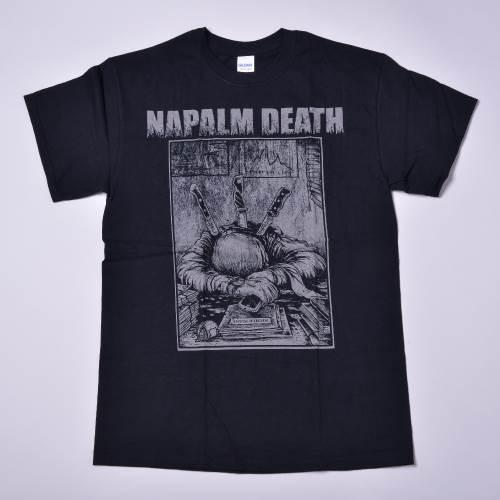 NAPALM DEATH / ツアーTシャツ 2019(knife)