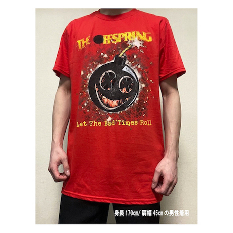 THE OFFSPRING / Hot Sauce(Bad Times) Red T
