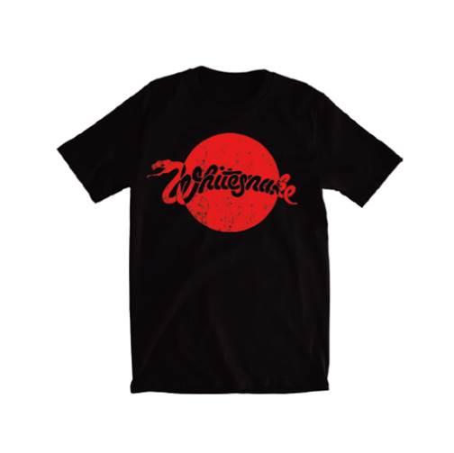 WHITESNAKE/ JAPAN TOUR LIMITED 黒Tシャツ