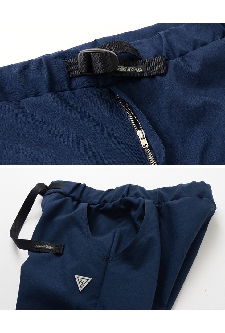 SUNNY SPORTS × RAG(サニースポーツ × ラグ) トレイル 3D パンツ / メンズ / クライミング / イージーパンツ 9分丈 / 日本製 / TRAIL 3D PANTS / SN15F007