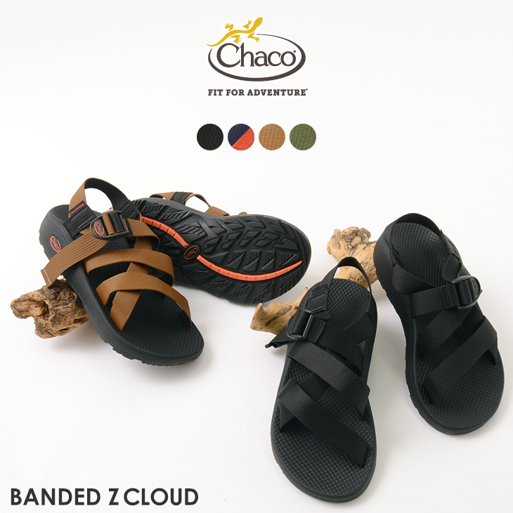 CHACO(チャコ) バンディッド Zクラウド / スポーツ サンダル / メンズ / ストラップ サンダル / アウトドア / BANDED Z CLOUD / MEN'S