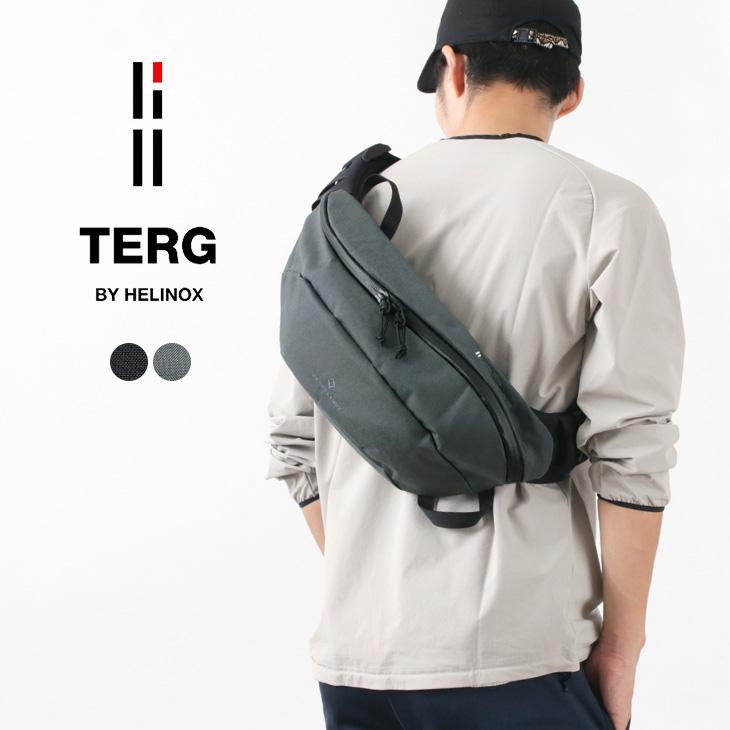 TERG BY HELINOX (ターグ バイ へリノックス) ミディアム ウエストバッグ / ボディーバッグ / ヒップバッグ / ユニセックス / 19930002 / MEDIUM WAIST PACK