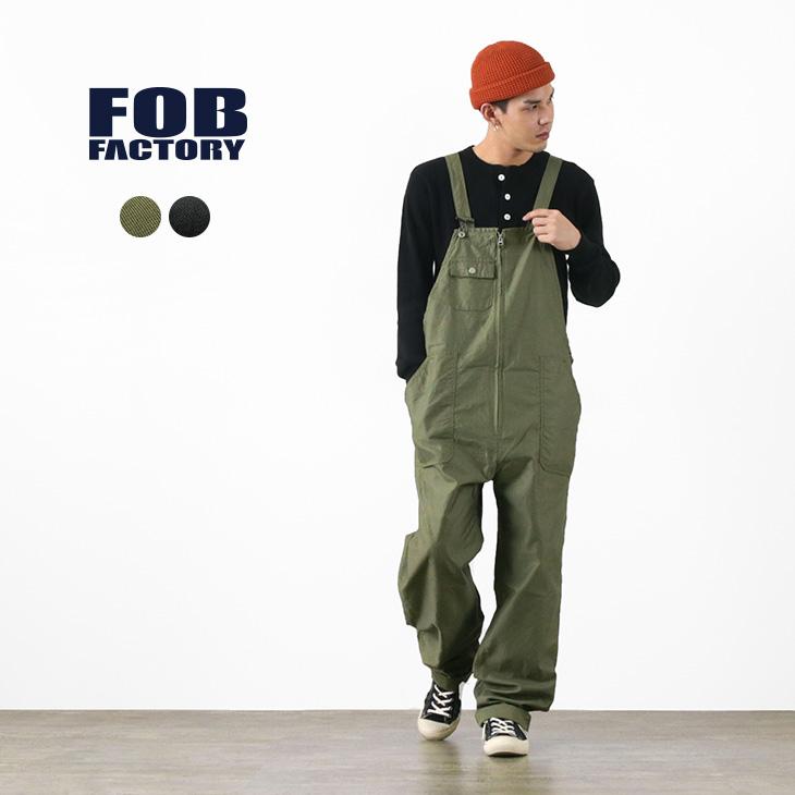 【期間限定!クーポンで10%OFF】FOB FACTORY (FOBファクトリー) F0489 / ミリタリー オーバーオール / メンズ / サロペット / 日本製 / MILITARY OVER-ALL