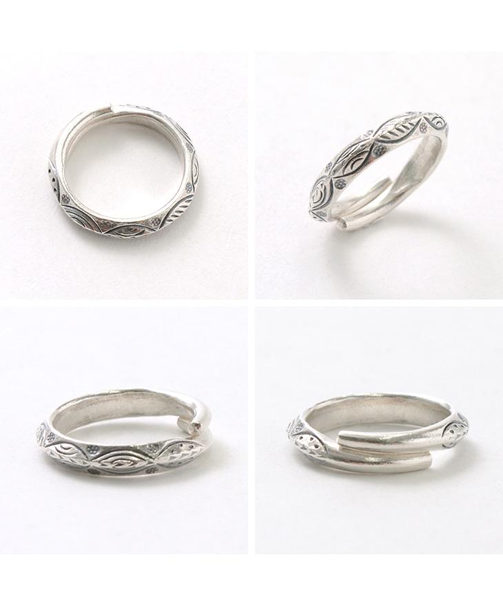 カレンシルバーリング / 指輪 / シルバー / レディース メンズ / ペア可 / リーフ / phaduA (パ・ドゥア)