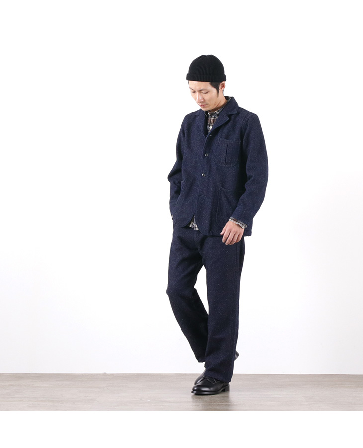 JAPAN BLUE JEANS(ジャパンブルージーンズ) J761922 ツイード デニム アーバン ペインターパンツ / メンズ / インディゴ / 日本製 / TWEED DENIM URBAN PAINTER PANTS