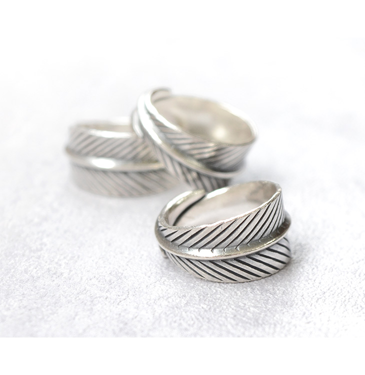 PHADUA(パドゥア) カレンシルバーリング / 指輪 / シルバー / メンズ / レディース / ペア可 / 大リーフ