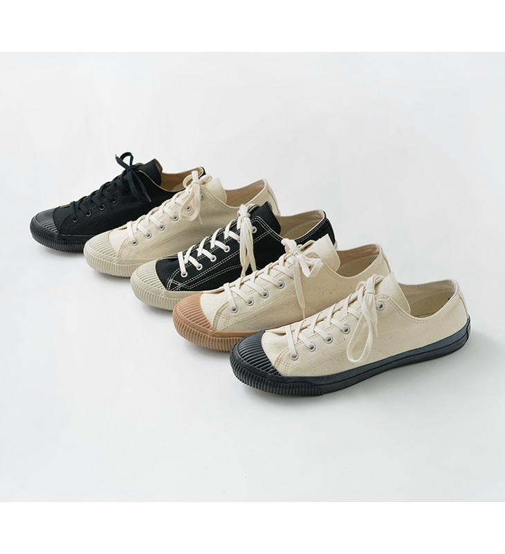 PRAS(プラス) シェルキャップ ロウ / メンズ レディース / ユニセックス / スニーカー / 靴 / 児島 帆布 / 日本製 / PRAS-01-LOW / SHELLCAP LOW