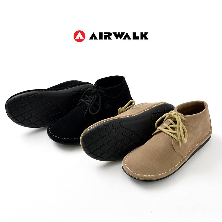 AIRWALK(エアウォーク) アウトランド / デザートブーツ / メンズ / スエード レザー シューズ スニーカー / 撥水 / OUTLAND D.BOOTS