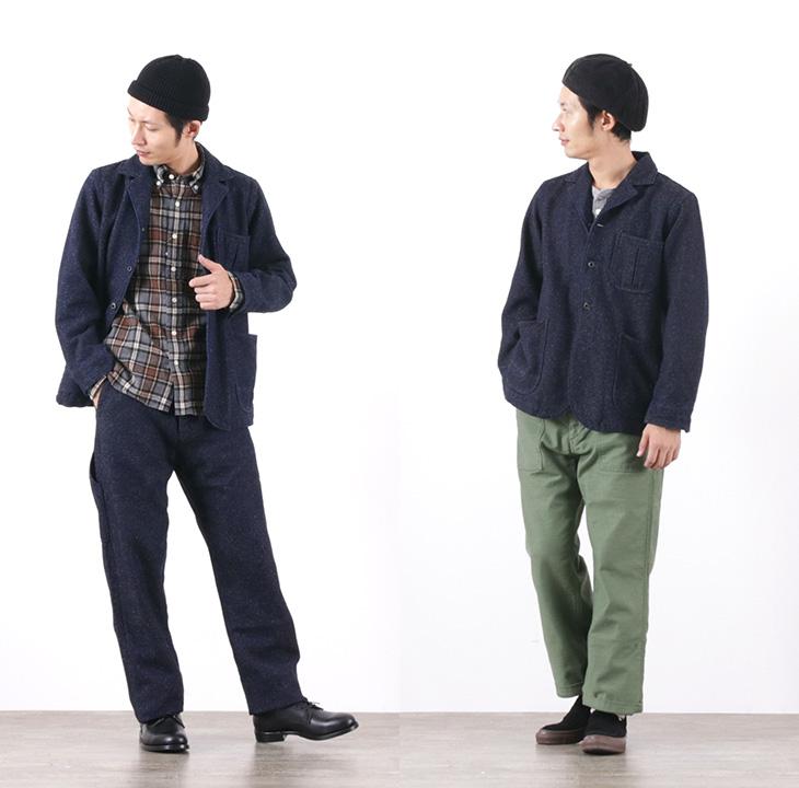 JAPAN BLUE JEANS(ジャパンブルージーンズ) J701922 ツイード デニム テーラードカバーオール / メンズ / インディゴ / 日本製 / TWEED DENIM TAILORED COVERALL