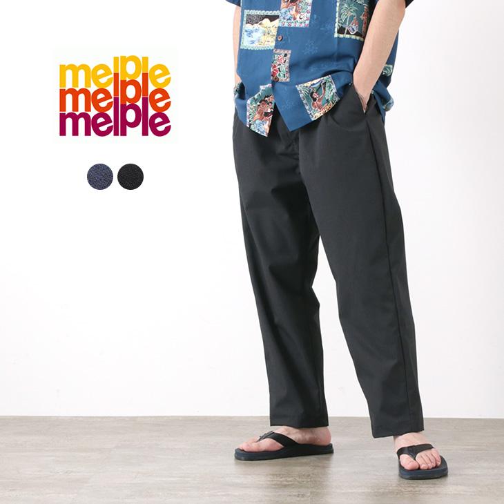 【50%OFF】MELPLE(メイプル) S.G. スラックス ノーティ N201 / メンズ / ワイド テーパード / 日本製 / S.G. SLACKS NAUGHTY N201【セール】