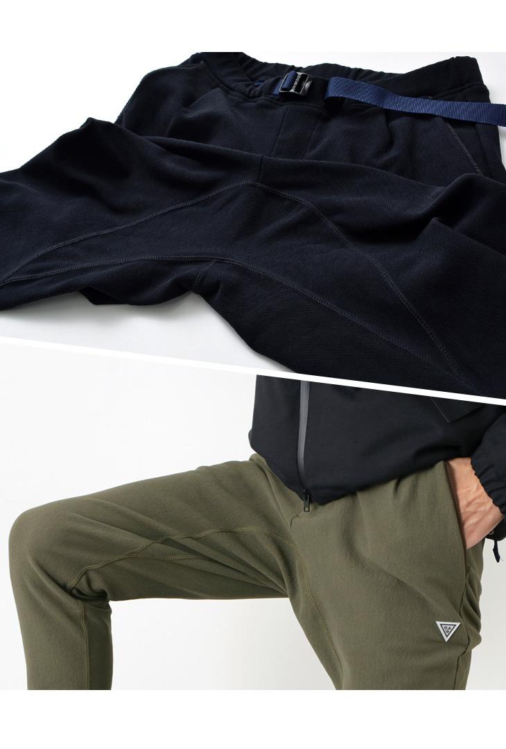 RAG(ラグ) ヒート コーデュロイ クライミング パンツ / メンズ / イージーパンツ  / 日本製 / HEAT CORDUROY CLIMBING PANTS