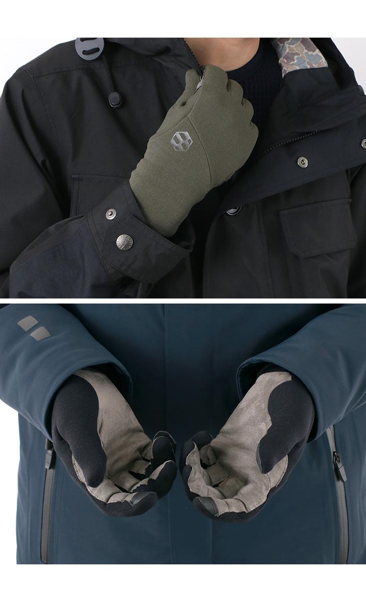 【期間限定!クーポンで10%OFF】HANDSON GRIP(ハンズオングリップ) トラッカー / アウトドア グローブ / フリース 手袋 / スマホ対応 / メンズ / 日本製 / TRACKER