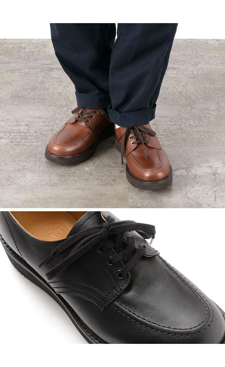 RE.ACT × ROCOCO(リアクト × ロココ) 別注 オックスフォード モカシン / ブーツ / メンズ / ビブラムソール / レザー 革靴 / 日本製 / 4ホール / OXFORD MOCCASIN