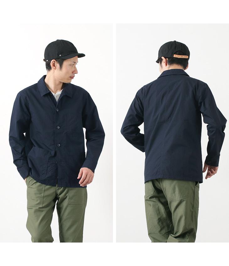 FOB FACTORY(FOBファクトリー) F2394 フレンチ シャツジャケット / 長袖 / メンズ / 日本製 / FRENCH SHIRT JACKET