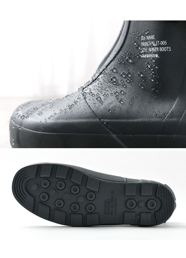 MOONSTAR(ムーンスター) 810s エイトテンス / MARKE / マルケ / レイン ブーツ / 長靴 / ラバー シューズ / 雨靴 / メンズ レディース / ユニセックス / ET005