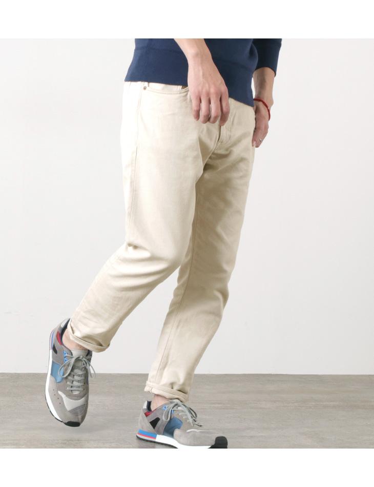 【期間限定!クーポンで10%OFF】JAPAN BLUE JEANS(ジャパンブルージーンズ) 別注 セミワイドテーパード 5P ピケパンツ / メンズ / 岡山 日本製 / RJB1020 / TARPADE 5P PIQUE PANTS
