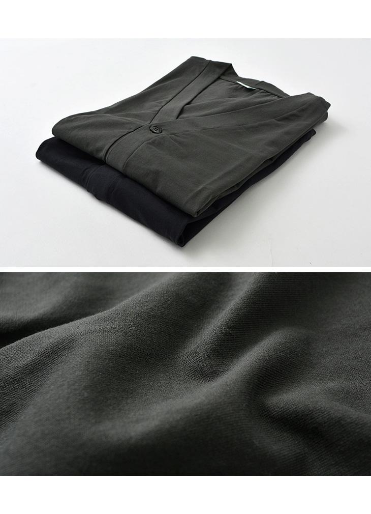 GICIPI(ジチピ) サルディーナ リラックスフィット Vネックカーディガン / コットン / 無地 / 長袖 / メンズ / イタリア製 / SARDINA