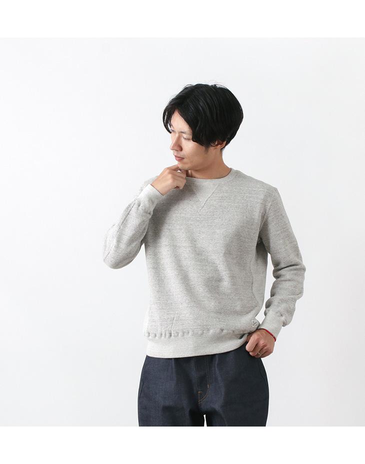 KEPANI(ケパニ) 別注 ラフィー裏起毛 セットインスリーブ クルー スウェット / 裏起毛 / 長袖 / メンズ / 日本製