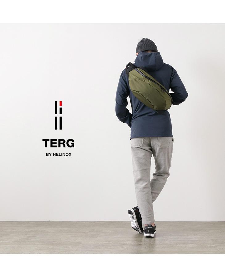 TERG BY HELINOX (ターグ バイ へリノックス) ミディアムウエストパック / バリスティック ナイロン / ボディ バッグ / ヒップバッグ / メンズ レディース / MEDIUM WAIST PACK