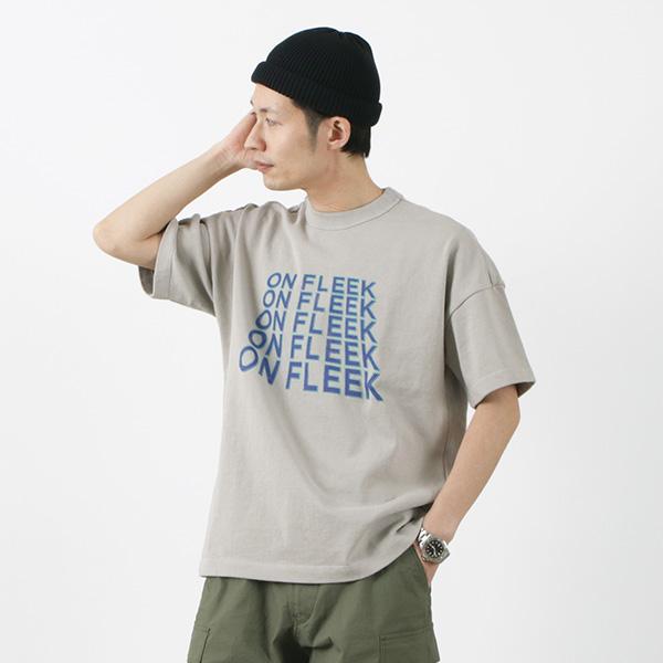 SOGLIA(ソリア) GT2 ON FLEEK Tシャツ (ステッカー付) / メンズ / 厚手 Tシャツ / ヘビーウエイト / プリントT / 日本製 / GT2 ON FLEEK T-SHIRT