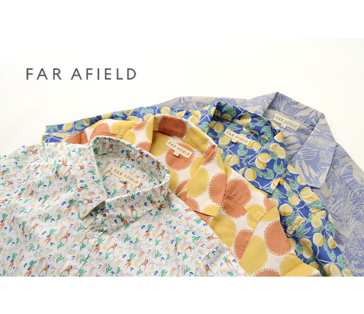 FAR AFIELD(ファー アフィールド) スタチオ ショートスリーブ シャツ / サリナス / メンズ / 半袖 / STACHIO S/S SHIRTS