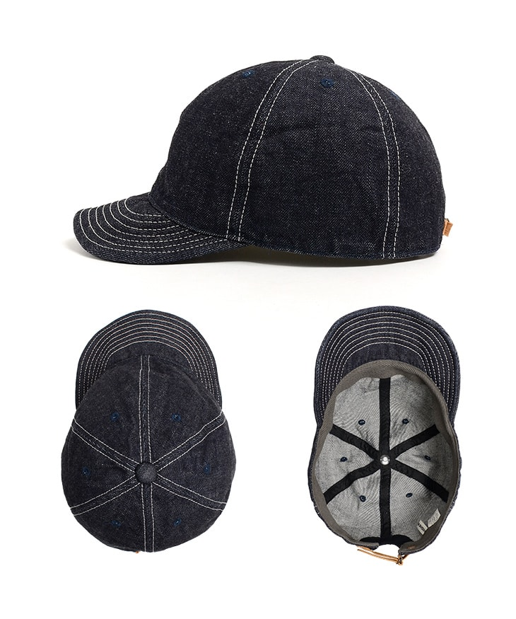 HIGHER(ハイヤー) セルヴィッチデニムキャップ / ワンウォッシュ / メンズ レディース / 日本製 / HT18006 / SELVAGE DENIM CAP