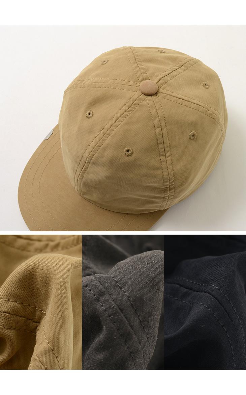 DECHO(デコ) レザー バックル キャップ / メンズ レディース / 日本製 / LEATHERBUCKLE CAP