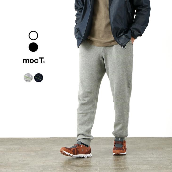 MOC T(モクティー) ネオンスクリプト ループウィール フルレングスパンツ / 杢×ネオンカラー / スウェット / レギュラーフィット / メンズ / 日本製 / MJ3-0151 / NEON SCRIPT LOOPWHEEL FULL LENGTH PANTS