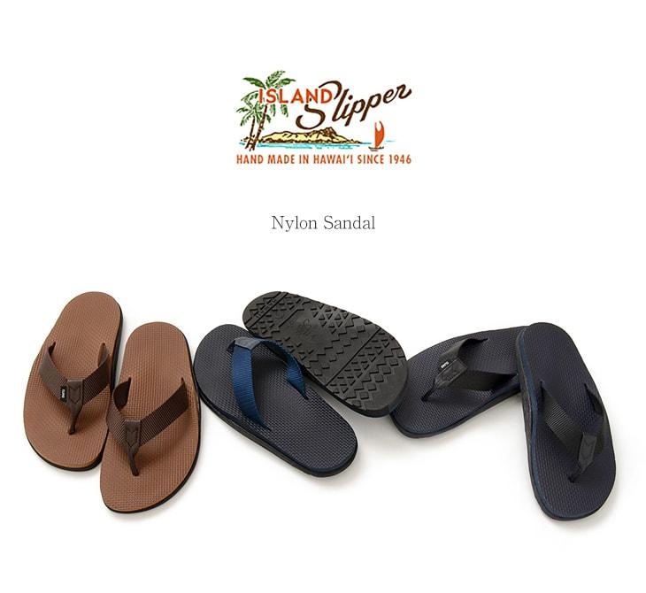 ISLAND SLIPPER(アイランドスリッパ) ナイロン サンダル / ビーチサンダル / トング / メンズ