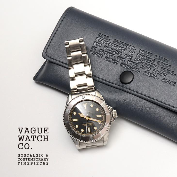 【期間限定!クーポンで10%OFF】VAGUE WATCH Co.(ヴァーグウォッチ) / GRY FAD /グレイフェード / ダイバーズウォッチ / 100m防水 / 10気圧防水