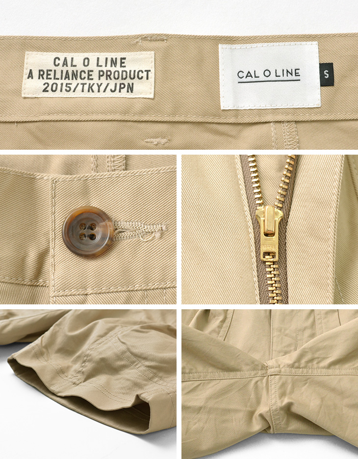 CAL O LINE(キャルオーライン) CL211-099 エクスプローラー ショーツ / メンズ / ショートパンツ / 多機能 / ストレッチ / チノパン / 日本製 / CL2111013600 / CL211-099 EXPLORER SHORTS