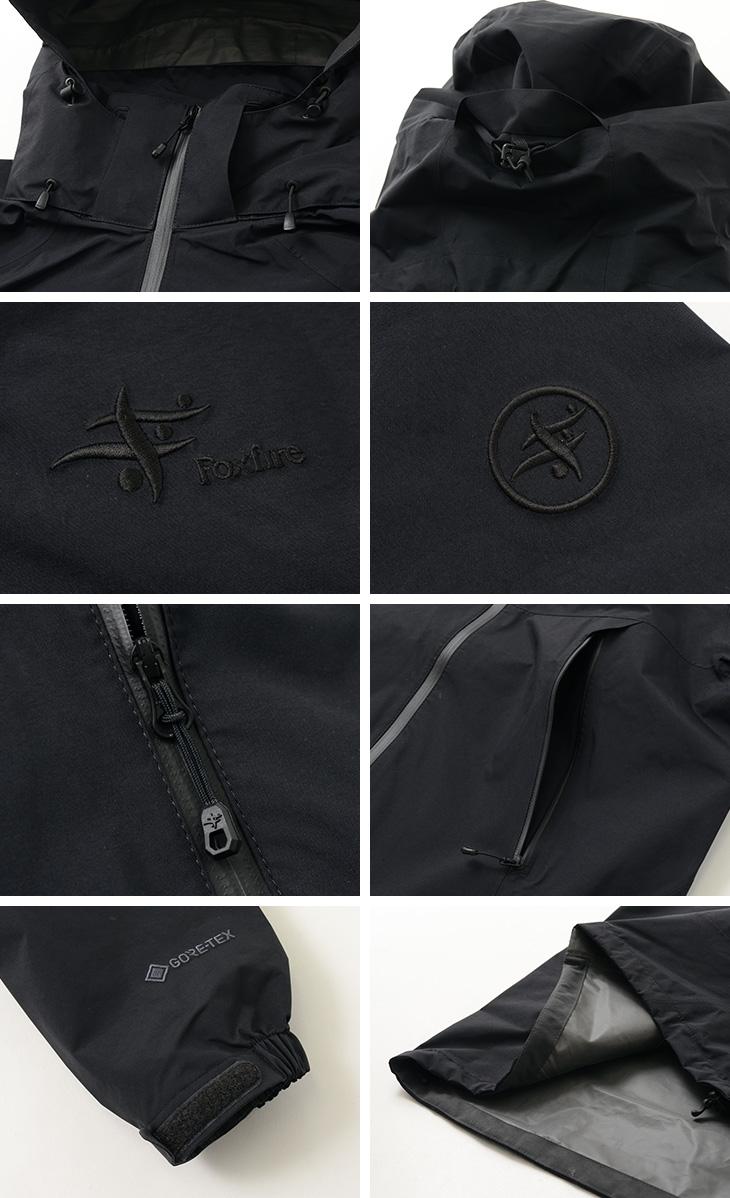 FOXFIRE(フォックスファイヤー) ミズリープジャケット / ゴアテックス パックライト / 2レイヤー / メンズ