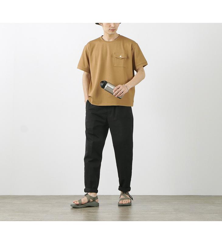 RE MADE IN TOKYO JAPAN(アールイー) ドレスジャージー ワイドTシャツ / メンズ / クルーネック / ゆったり / 日本製 / 3020S-CT / DRESS JERSEY WIDE T-SHIRT