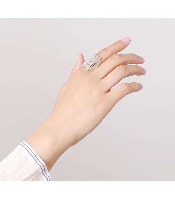 phaduA (パ・ドゥア) カレンシルバー リング / ヴィンテージ / 指輪 / シルバー / レディース / メンズ / ペア