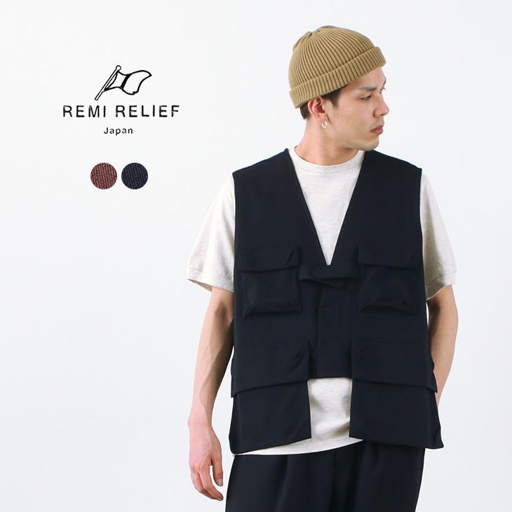 REMI RELIEF(レミレリーフ) ポケッタブル ベスト / メンズ / ミリタリー / アウトドア / セットアップ / RN21289005