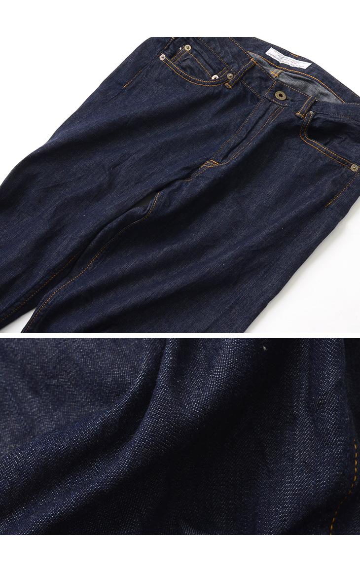 JAPAN BLUE JEANS(ジャパンブルージーンズ) RJB6110 / 別注 プレップ 8oz サマーデニム セルヴィッチ ジーンズ / スリム テーパード / メンズ / 岡山 日本製