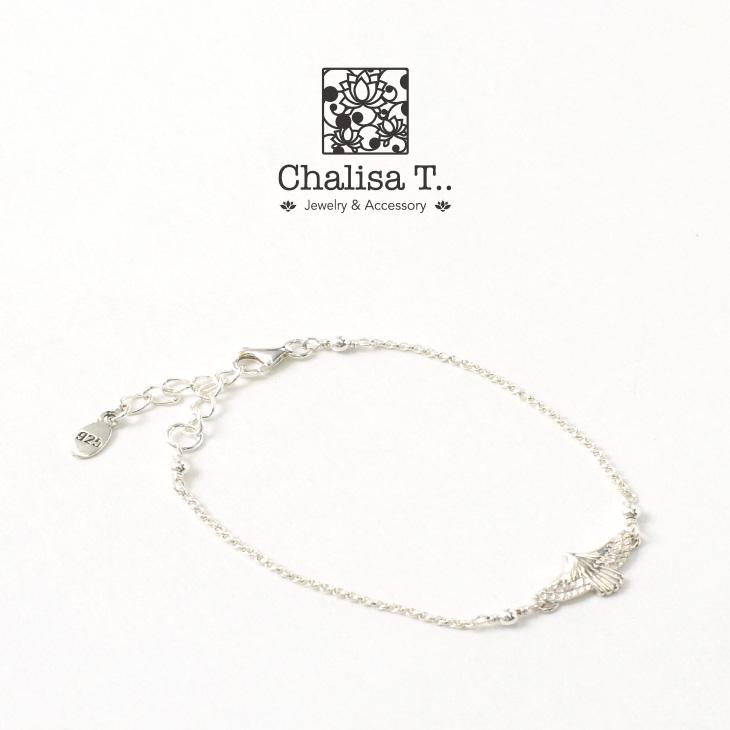 CHALISA T..(チャリッサ・ティー) イーグル シルバーチェーン ブレスレット / シルバー925 / レディース
