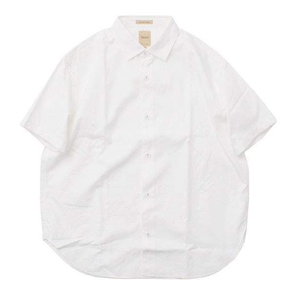 【20%OFF】SANCA(サンカ) オックスフォード ミニマル 半袖シャツ / メンズ / 日本製 / OXFORD MINIMAL SHIRTS S/S【セール】