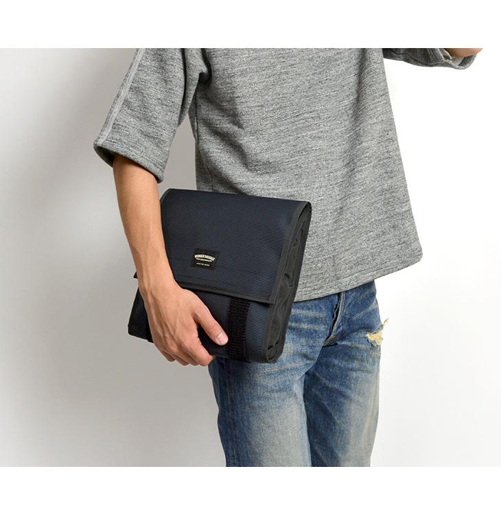 WONDER BAGGAGE(ワンダーバゲージ) グッドマンズ クラッチバッグ / メンズ / 日本製 / GOODMANS CLUTCH BAG