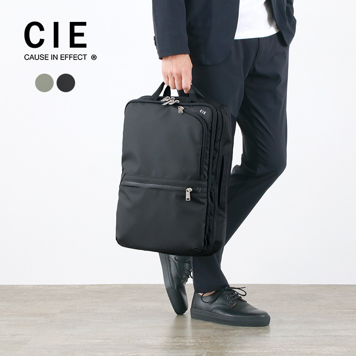 【20%OFF】CIE (シー) ヴァリアス 2ウェイ バックパック / メンズ レディース / 2WAY / ハンドルバッグ / 日本製 / VARIOUS 2WAY BACKPACK【セール】