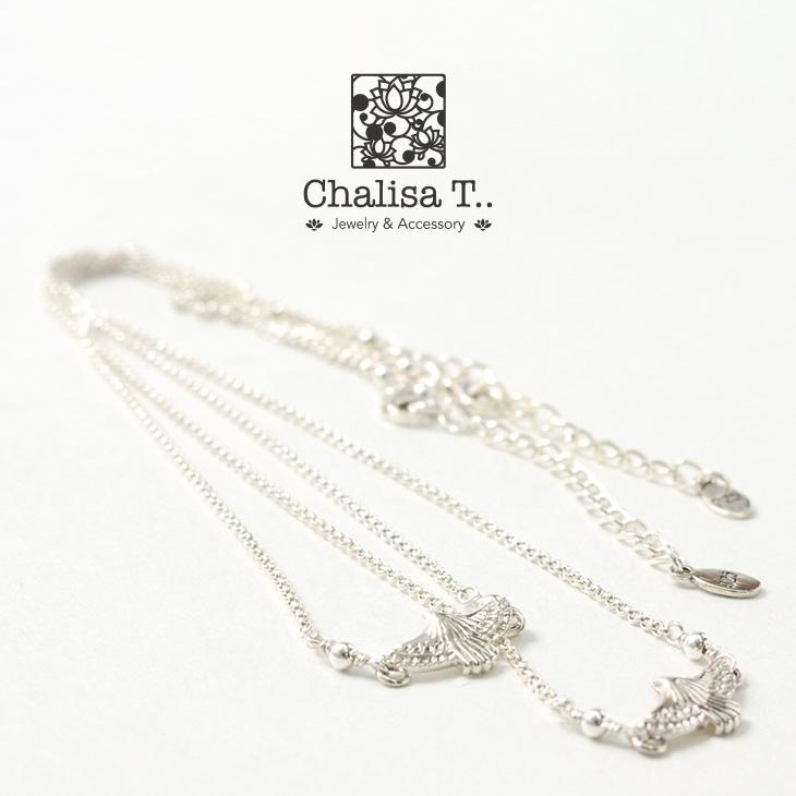 CHALISA T..(チャリッサ・ティー) イーグル シルバーチェーン ネックレス / シルバー925 / レディース