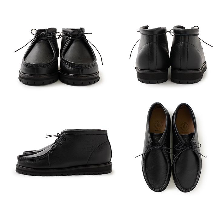 【期間限定!クーポンで10%OFF】DOUBLE FOOT WEAR(ダブルフットウェア) 別注 ヘンドリック レザーシューズ ビブラムソール / チロリアン ブーツ / 革靴 スニーカー / メンズ / 牛革 / 日本製 / 2ホール / Hendrik