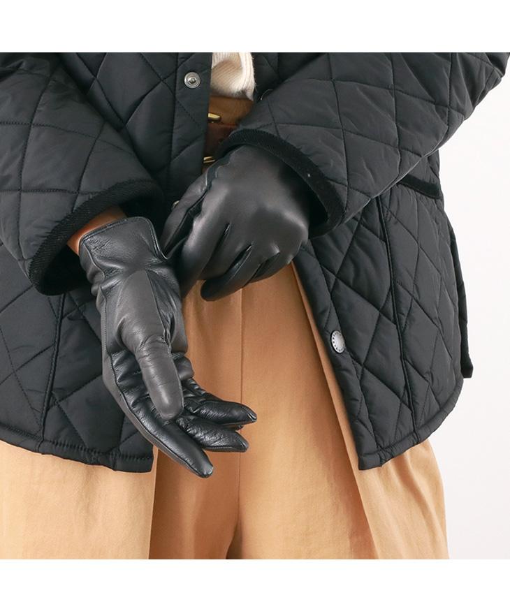 【期間限定!クーポンで10%OFF】GLOVES(グローブス) 78-SM ラムレザー グローブ / 本革手袋 / スマホ対応 / レディース / イタリア製