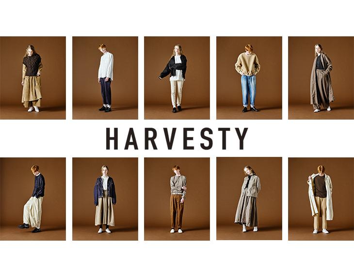 HARVESTY(ハーベスティ) ビッグデニム(ユーズド加工) / メンズ / ワイドシルエット / 日本製 / ウエストゴム / A11703 / BIG DENIMNTS